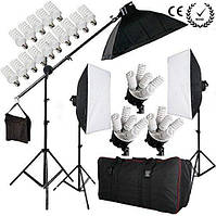 Набор постоянного студийного света на 5 ламп FST PHOTO 0025 MAX