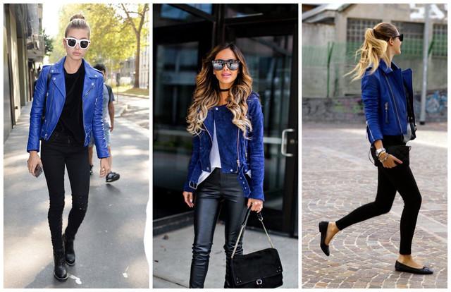 синяя косуха с чем носить