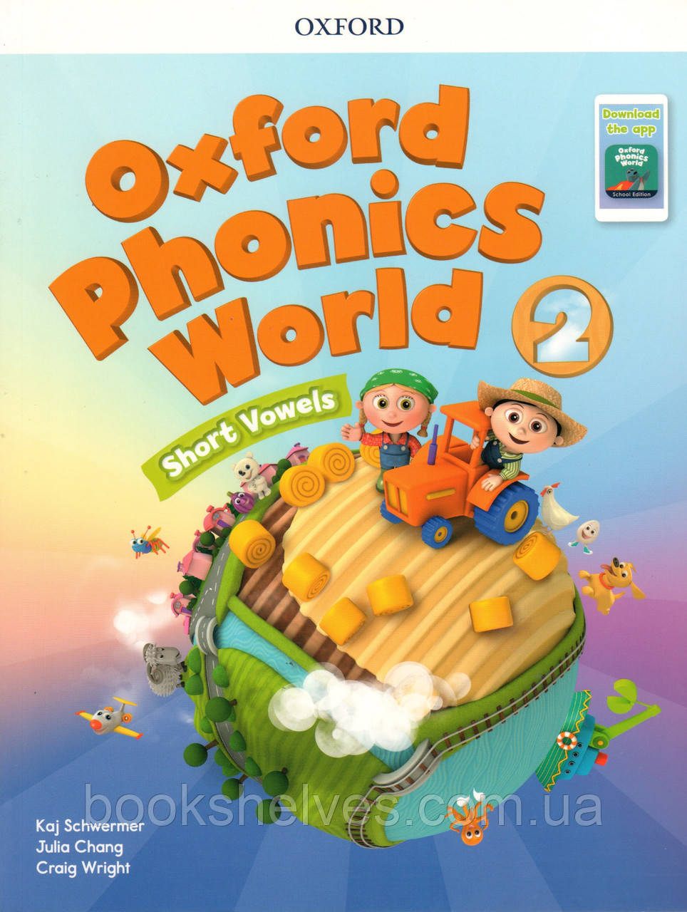 Учебник Oxford Phonics World 2 Student's book + App Pack