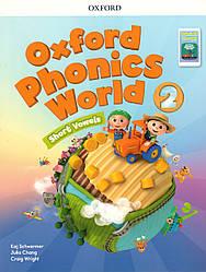 Учебник Oxford Phonics World 2 Student's book + App Pack