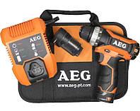 Шуруповёрт аккумуляторный AEG BS 12C2LI-152BRCC