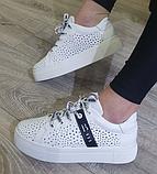 Кеди жіночі Inshoes білі, фото 2