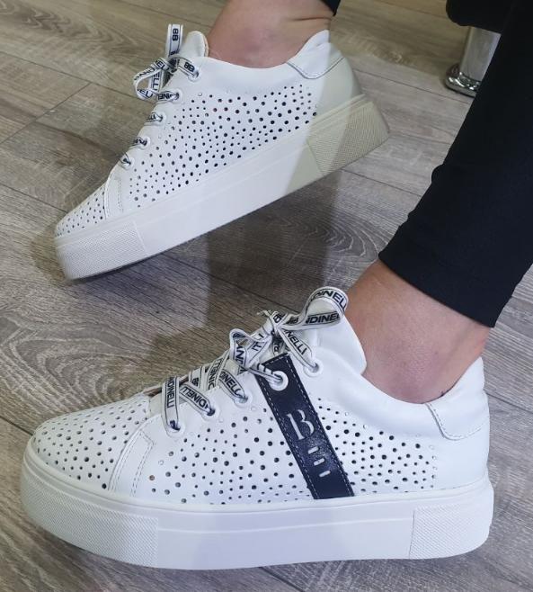 Кеди жіночі Inshoes білі