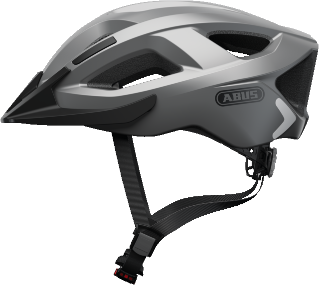Велошолом спортивний ABUS ADURO 2.0 Glare Silver L (58-62 см)