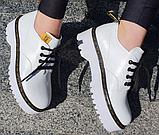 Туфлі жіночі на платформі Inshoes білі, фото 3