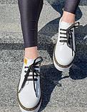 Туфлі жіночі на платформі Inshoes білі, фото 4