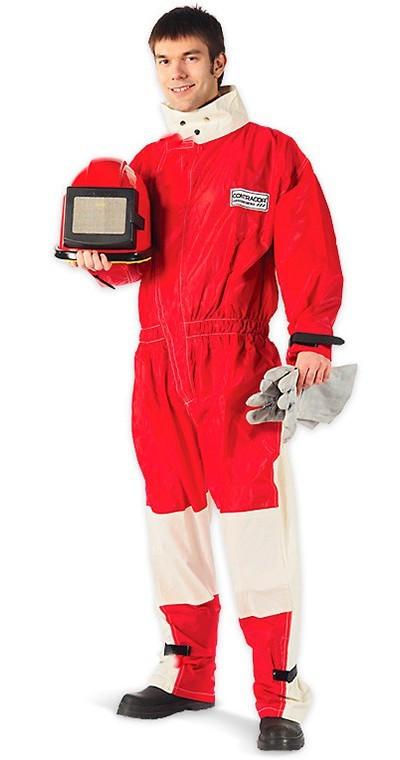 Легкий костюм пескоструйщика Contracor (10130734) 2XL (5466459)