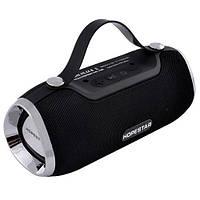 Портативная блютус влагозащищенная колонка HopeStar H40 Bluetooth Black