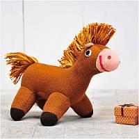 Вязаная кукла ФРЕЯ «Лошадка Гаврюша»