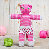 Вязаная кукла ФРЕЯ «Кошка Алиса»