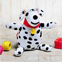 Вязаная кукла ФРЕЯ «Собака Филя»