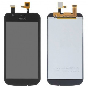 Дисплей Nokia 1 TA-1047, TA-1056, TA-1060, TA-1066, TA-1079 с сенсором (тачскрином) черный