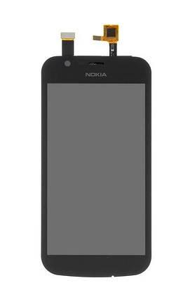 Дисплей Nokia 1 TA-1047, TA-1056, TA-1060, TA-1066, TA-1079 с сенсором (тачскрином) черный, фото 2