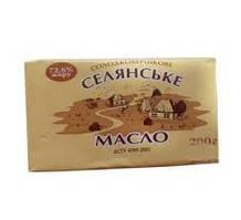 Масло БТМ Селянське  82,5% 200г