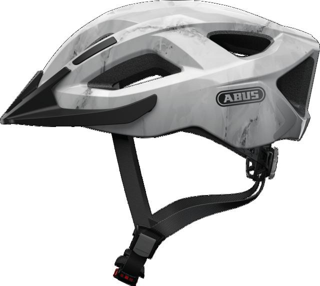 Велошлем спортивный ABUS ADURO 2.0 Grey Marble S (51-55 см)