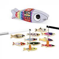 Игра Магнитная рыбалка, Janod, Сардины, для развития координации рука-глаз, 2+