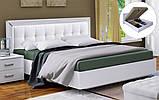 Кровать Белла с мягкой спинкой, фото 2