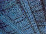 Плед-покрывало Вязаное 220х240, двуспальный евро, фото 2