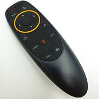 Универсальный аэропульт гиропульт для для Smart TV Android приставок пульт с гироскопом и голосовым вводом аэромышь Air Mouse черный