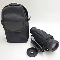 Цифровой прибор ночного видения с Записью монокуляр с инфракрасной подсветкой зум 5x/8x UKC NV0535 черный