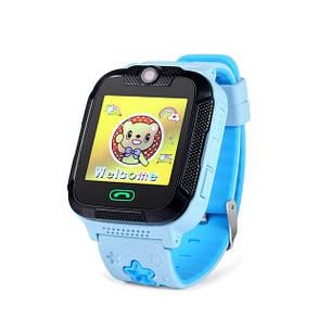 Детские умные GPS-часы Wonlex Smart Baby Watch GW2000 голубые, фото 2