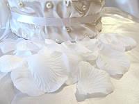 Искусственные лепестки роз белые 150 шт (арт. RP-1)