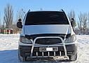 Кенгурятник высокий (защита переднего бампера) Mercedes Vito W639 2003-2009, фото 2