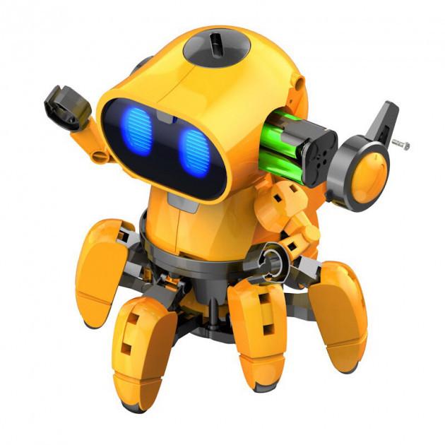 Робот конструктор інтерактивний Tobbie Robot HG 715 жовтий