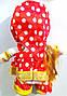 Танцююча повторюшка лялька Маша інтерактивна 20 см в горошок, фото 4