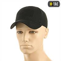 Бейсболка тактична M-Tac Velcro Black Size S/M