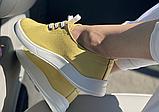 Жіночі кеди Inshoes жовті, фото 3