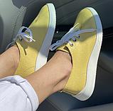 Жіночі кеди Inshoes жовті, фото 4