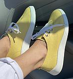Жіночі кеди Inshoes жовті, фото 2