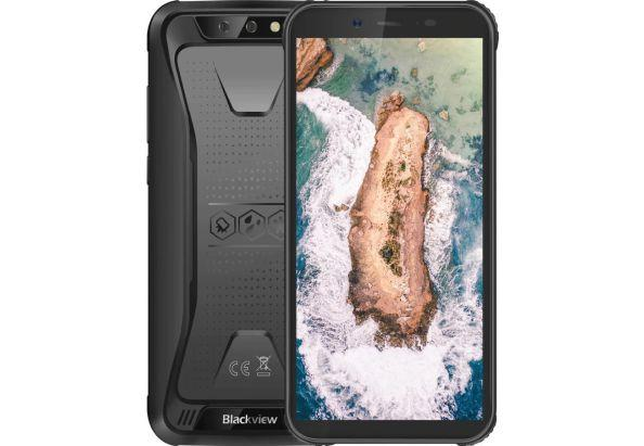 """Смартфон противоударный для активного туризма с двойной камерой 5,5"""" 3/16Gb Blackview BV 5500 PRO черный"""
