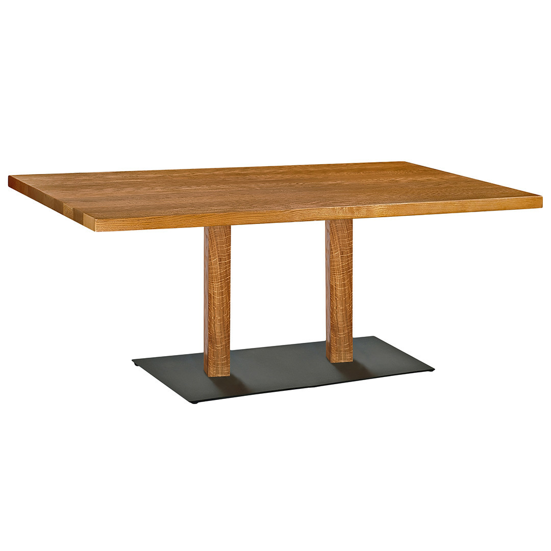 "Деревянная база для стола в ресторан ""DUO"" опора от производителя"