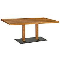 "Деревянная база для стола в ресторан ""DUO"" опора от производителя, фото 1"