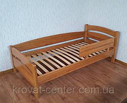 """Детская кровать из массива натурального дерева с защитным бортиком """"Марта"""", фото 3"""