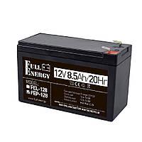 Акумуляторна батарея Full Energy FEP-128, 12В/8,5 А
