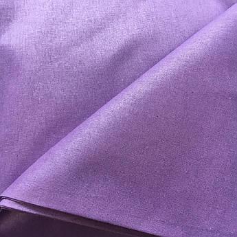 Польская хлопковая ткань фиолетовая 160 см