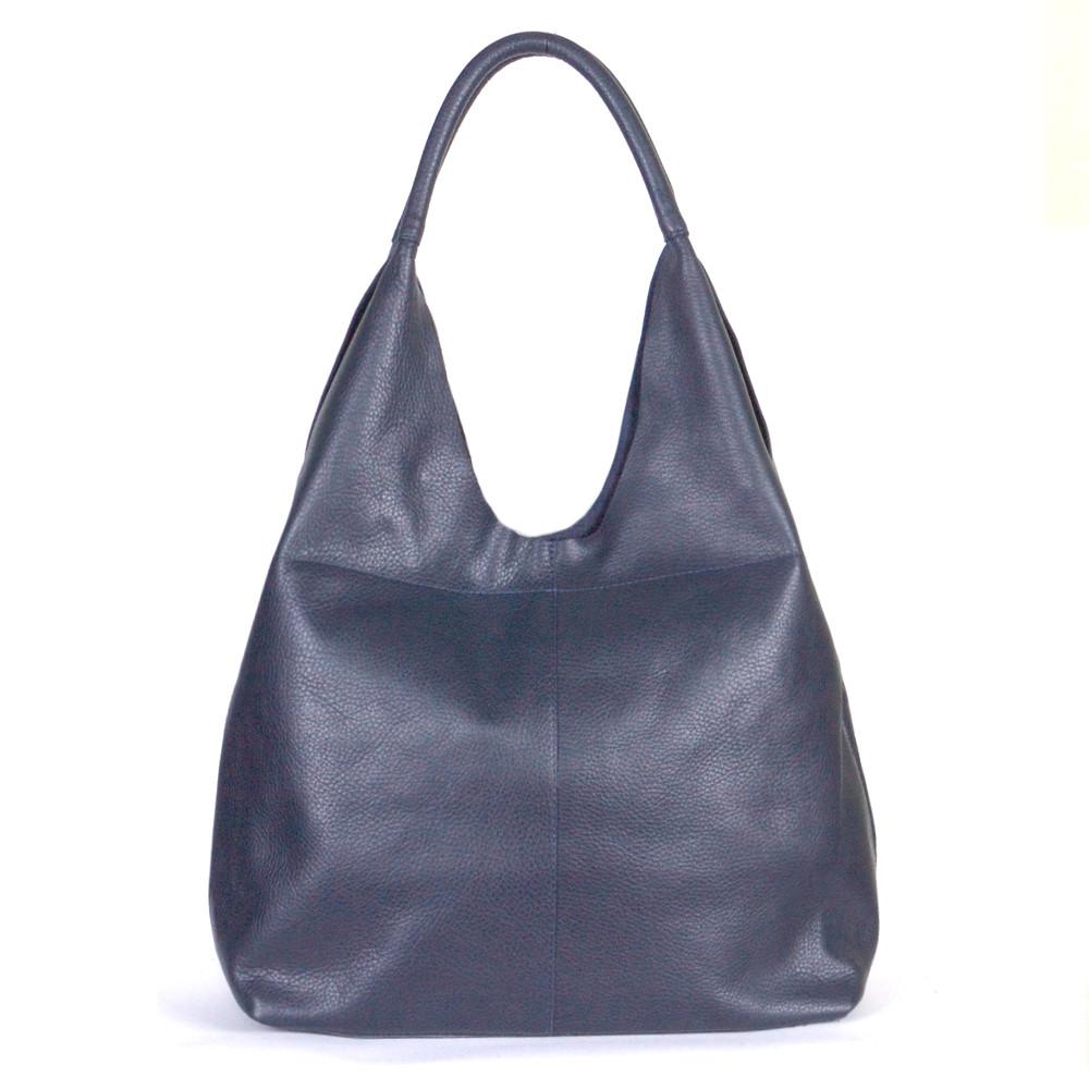 Женская сумка кожаная 48 синий флотар 01480103
