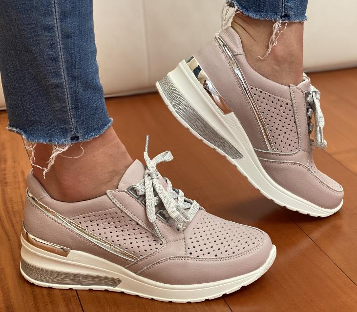 Жіночі кросівки Inshoes пудрові