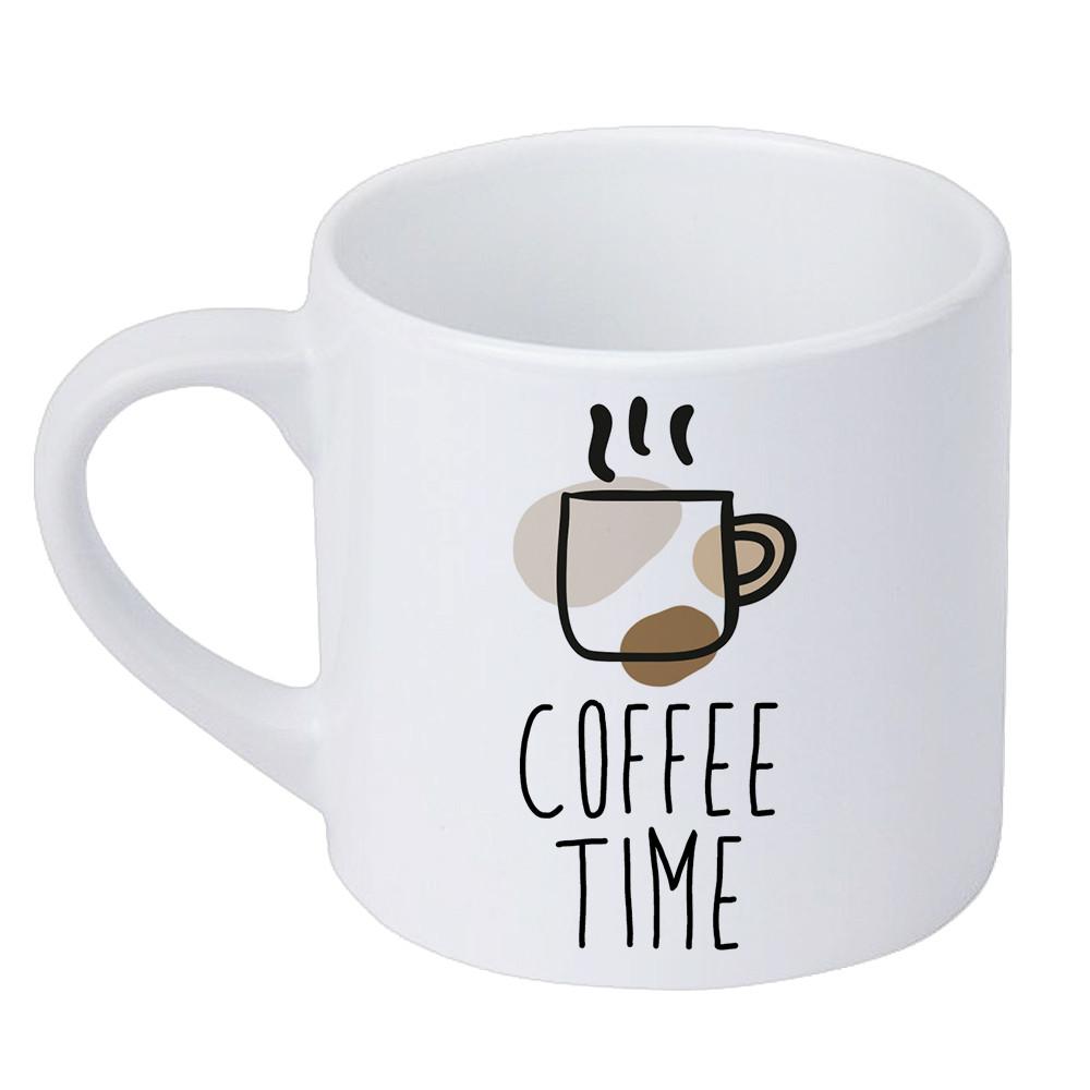 Кружка маленькая Coffee time 170 мл (KRD_20M001)