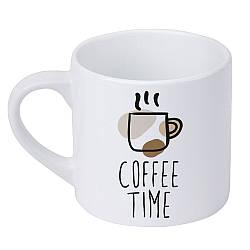 Кружка маленькая Coffee time (KRD_20M001)