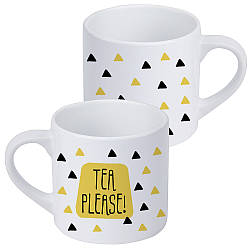 Кружка маленькая Tea please! 170 мл (KRD_20M011)