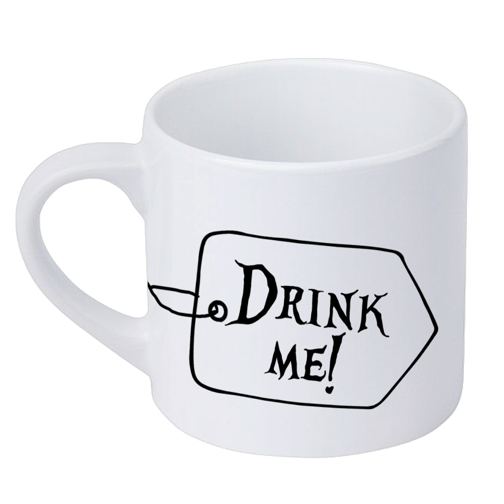 Кружка маленькая Drink me! 170 мл (KRD_20M012)