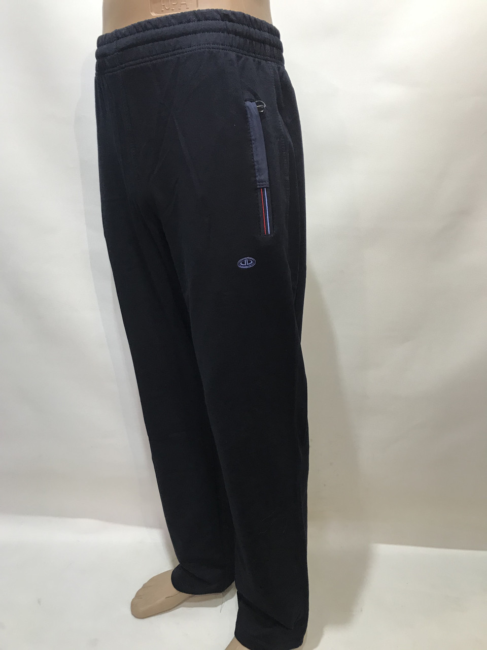 Спортивные штаны прямые Billcee р. L  отличного качества темно-синие