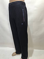 Спортивные штаны прямые Billcee отличного качества темно-синие Р. L, XL, 2XL, 3XL, 4XL