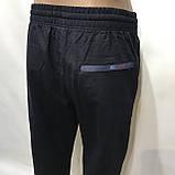 Спортивные штаны прямые Billcee р. L  отличного качества темно-синие, фото 6