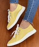 Жіночі кеди Inshoes жовті, фото 5