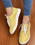 Жіночі кеди Inshoes жовті, фото 6